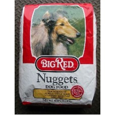 BIG RED DOG FOOD NUGGETS 40LB