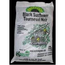 BIRD FOOD BLACK OIL SUNFLOWER 25LB